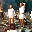 """Angelina Jolie et Brad Pitt dans le film """"Mr. & Mrs. Smith"""" en 2005."""