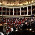 François Bayrou - Hommage à Marielle de Sarnez dans l'hémicycle - Séance de questions au gouvernement à l'assemblée nationale, Paris, le 19 janvier 2021. © Stéphane Lemouton / Bestimage