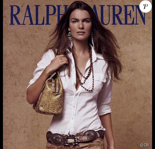 La ravissante Filippa Hamilton, ex-égérie de Ralph Lauren.