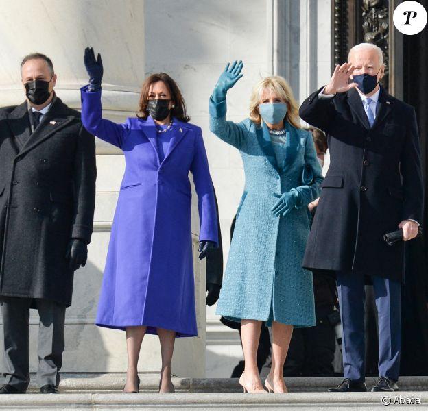 Investiture de Joe Biden et Kamala Harris au Capitole, à Washington.