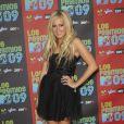 Ashley Tisdale à l'occasion de la soirée Los Premios MTV, le 15 octobre 2009, aux studios Universal de Los Angeles.