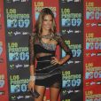 Alessandra Ambrosio à l'occasion de la soirée Los Premios MTV, le 15 octobre 2009, aux studios Universal de Los Angeles.