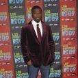 50 Cent à l'occasion de la soirée Los Premios MTV, le 15 octobre 2009, aux studios Universal de Los Angeles.