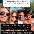 Delphine Tellier évoque son rôle de belle-mère avec les enfants de Jean-Pascal Lacoste et des relations avec leur mère  - Instagram, 28 janvier 2021