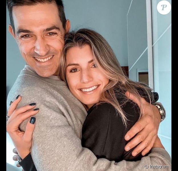 Jean-Pascal Lacoste et Delphine Tellier sur Instagram