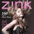 Avril Lavigne en couverture du magazine  Zink  pour la saison automne 2009
