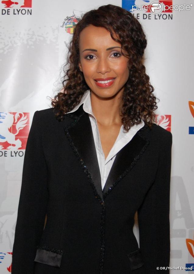 Sonia Rolland lors du gala de charité organisé par l'association Maïsha à Lyon le 18 octobre 2009