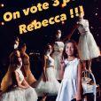 Patrick Fiori a partagé des photos des coulisses de The Voice Kids saison 7 pour soutenir sa candidate Rebecca. Le 10 octobre 2020.