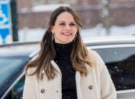 Sofia de Suède enceinte : avec son ventre rond, elle joue les princesses des neiges