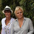 Muriel Robin et sa compagne Anne Le Nen