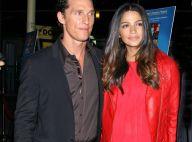 Matthew McConaughey : Sa chérie Camila Alves, très enceinte, est d'une beauté... flamboyante !