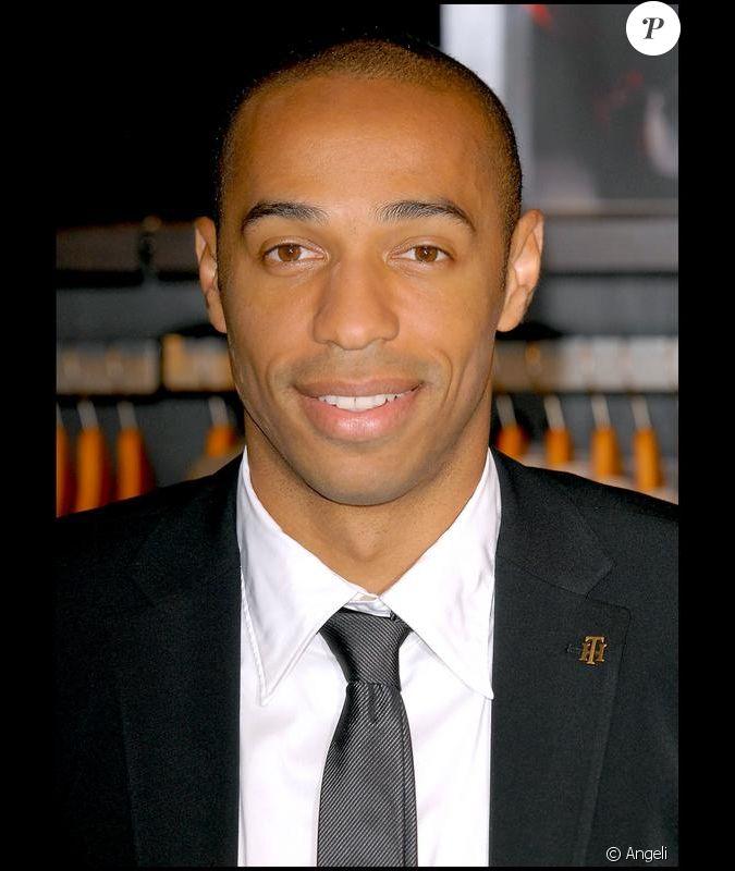 Articles De Bulge Football Taggés Thierry Henry: Le Footballeur Français Thierry Henry