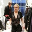 Lindsay Lohan fait du shopping dans Soho à New-York le 22 octobre 2009