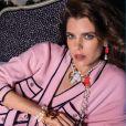 Charlotte Casiraghi est le visage de la nouvelle collection prêt-à-porter de Chanel. Photo par Inez et Vinoodh.