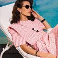 Charlotte Casiraghi est le visage de la collection prêt-à-porter printemps-été 2021 de Chanel. Photo par Inez et Vinoodh.