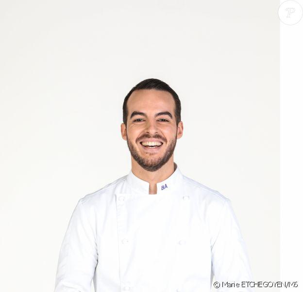 """Bruno Aubin, candidat à """"Top Chef 2021"""" sur M6."""