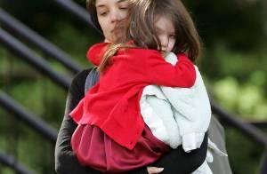 Suri Cruise, La fille de Tom et Katie, encore perchée sur des plus hauts talons ! Ils sont fous les parents ?