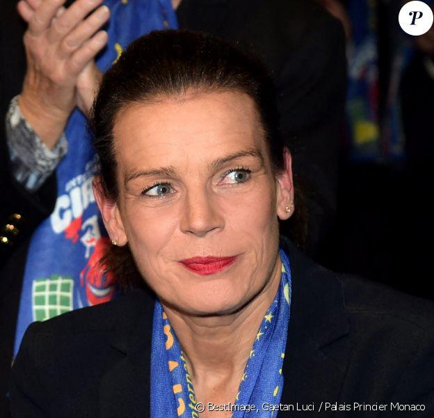 La Princesse Stéphanie assiste à la soirée d'ouverture du 39ème Festival International du Cirque de Monte Carlo au Chapiteau de Fontvieille à Monaco. Photographe Gaetan Luci - Palais Princier