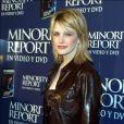 Kathryn Morris à la première du film Minority Report à Madrid.