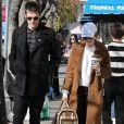 Ashley Tisdale et son mari Christopher French font du shopping à Studio City, le 6 janvier 2019.