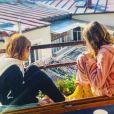 Julia Livage et ses deux filles, nées en 2010 et en 2012 - Instagram