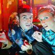"""Alexandra Lamy et Jean Dujardin dans """"Un gars, une fille"""", sur France 2."""