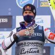 Alexis Pinturault, 2ème du combiné pendant les Championnats du monde de ski alpin FIS 2021 à Cortina d'Ampezzo, Italie, le 15 février 2021.© LPS/Zuma Press/Bestimage