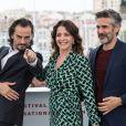 Asier Etxeandia, Nora Navas, Leonardo Sbaraglia au photocall du film Douleur et Gloire (Dolor y Gloria) lors du 72ème Festival International du film de Cannes. Le 18 mai 2019 © Jacovides-Moreau / Bestimage