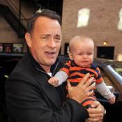 Tom Hanks : Très doué pour faire... pleurer les bébés ! C'est moche !