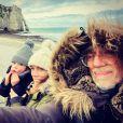 Laetitia Bertignac, Louis Bertignac et leur fils Jack, sur Instagram en janvier 2021.