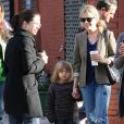 Michelle Williams et Matilda dans les rues de New York le 30 octobre