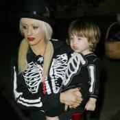 Christina Aguilera et son fils ... n'ont même pas la peau sur les os !