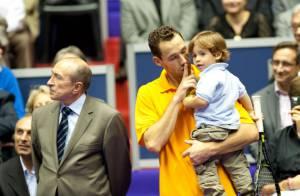Michaël Llodra : Ses plus belles victoires ? Son épouse, sa fille Manon et son adorable Téo, 2 ans !