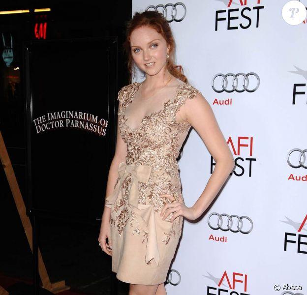 La très jolie Lily Cole, à l'occasion de l'avant-première de L'Imaginarium du Docteur Parnassus, dans le cadre de l'AFI FEST 2009, à Los Angeles, le 2 novembre 2009 !
