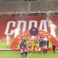 La finale de la Coupe du Roi oppossant le FC Barcelone à l'Athletic Bilbao au stade La Cartuja à Séville, Espagne. © Jack Abuin/Zuma Press/Bestimage