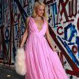 """Paris Hilton a assisté à une soirée pré-cérémonie des Oscars au restaurant """"Craig's"""". Los Angeles, le 21 avril 2021."""