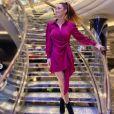 """Emilie Nef Naf, ex gagnante de """"Secret Story"""" (2009) est devenue une business woman accomplie et mère de famille de deux enfants au côté de son companon Jérémy Ménez - Instagram"""