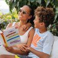 Alicia Keys et son fils Egypt. Décembre 2020.