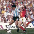 Diego Maradona - Argentine / Belgique - Coupe du monde 1982 - foot football - action largeur . © FEP / Panoramic / Bestimage