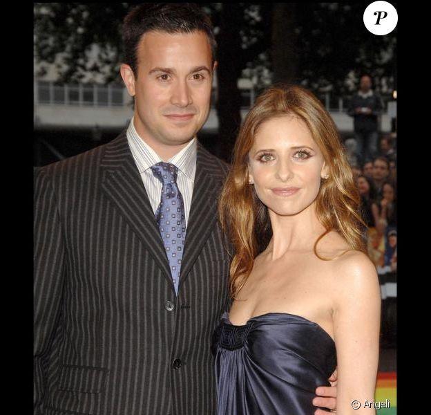 Sarah Michelle Gellar et son mari Freddie Prinze Jr.