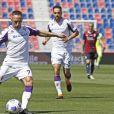 Franck Ribéry lors du match Bologne - Fiorentina, le 2 mai 2021.