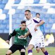 Franck Ribéry lors du match Sassuolo - Fiorentina, le 17 avril 2021.