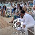 Julien Tanti et Manon Marsault ont renouvelé leurs voeux à Dubaï pour leurs deux ans de mariage, entourés de leurs proches - Instagram