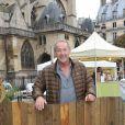 Gerard Klein à la 2e édition du salon du Bio et de l'art comtemporain à Paris le 13 septembre 2013.