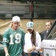 David et Victoria Beckham à Madrid en septembre 2003.