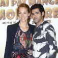 """Jamel Debbouze et sa femme Mélissa Theuriau - Avant-première du film """"Pourquoi j'ai pas mangé mon père"""" au Pathé Beaugrenelle à Paris, le 29 mars 2015."""