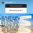 """Laura de """"Mariés au premier regard 2021"""" répond aux questions de ses fans sur Instagram, le 10 mai 2021"""