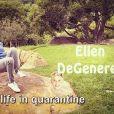 Ellen Degeneres présente les séquences non retenues pour son émission tournée depuis chez elle lors de l'épidémie de Coronavirus (Covid-19).