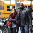 Leighton Meester à New York, sur le tournage de la saison trois de  Gossip Girl