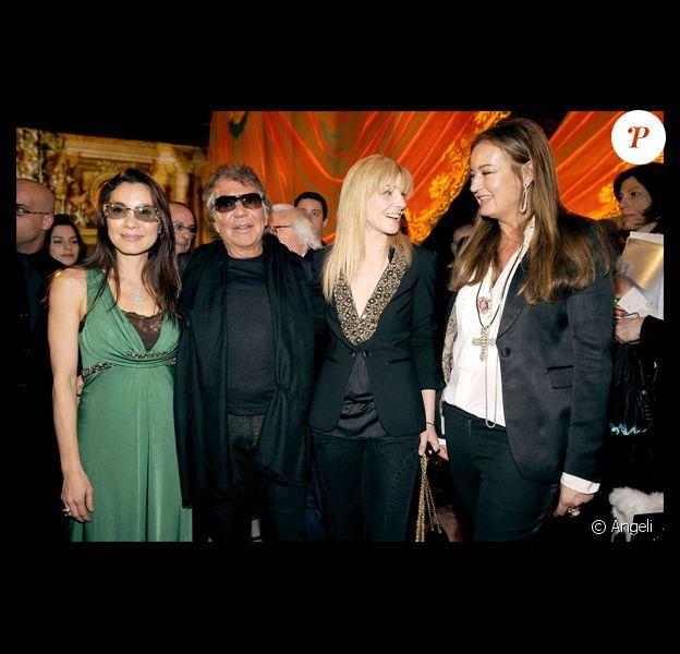 Roberto Cavalli, Michelle Yeoh, Eva Cavalli et Clotilde Coureau